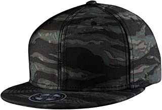 Gorra de Béisbol Unisex Camuflaje Hip Hop Snapback Sombrero Plano Dance Hat Moda Accesorio