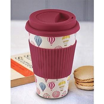 Freelance Bamboo Fibre Coffee Cup - 2 Pieces, 400 ml