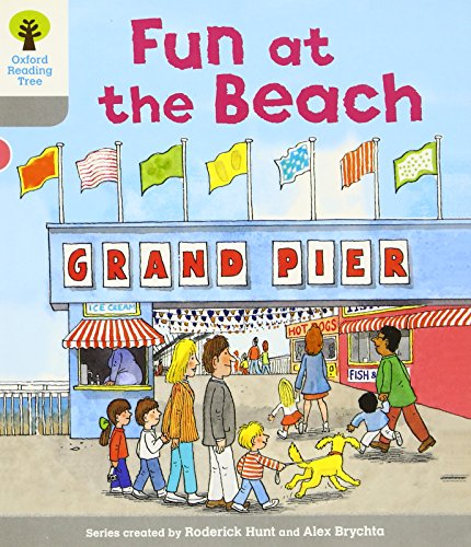 Oxford Reading Tree: Level 1: First Words: Fun at the Beachの詳細を見る