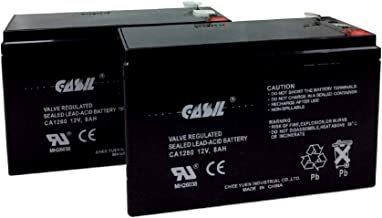 APC Back-UPS ES BE550G APC Back-UPS ES 650 APC Back-UPS XS 1300VA BX1300LCD Battery Replacement by Casil 12v 8ah 2 Pack