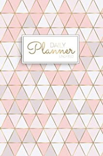 Daily Planner Undated: Weekly Planner No Date - Undated Planner and Journal for 12 Month - 1 Year   Undated Calendar and M...