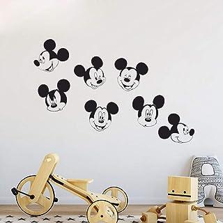 etiqueta de la pared Mickey Mouse Etiqueta de la pared calcomanía calcomanías de pared de Mickey