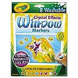Crayola Crystal Effects Washable Window Markers