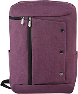 Fashion Laptop Backpack Mens Male Backpacks Business Notebook Mochila Waterproof Back Pack Travel Bagpack (Color : Purple, Size : 42cm*28cm*13cm)