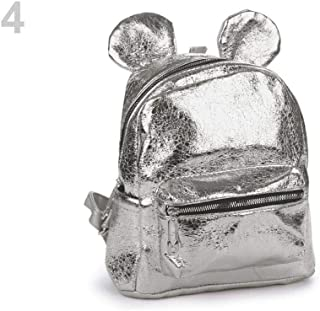 1pc Silver Girls Metalic Backpack, Childrens and Bags & Backpacks, Fashion Accessories