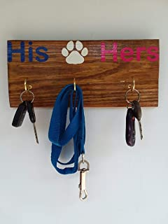 His,Hers,and The Dog Key Chain and Leash Holder