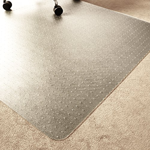 "Marvelux Enhanced Polymer Eco-Friendly Office Chair Mat for Low and Standard Pile Carpeted Floors 30"" x 48"" 