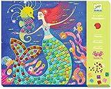 Djeco Caja de mosaicos El Canto de Las Sirenas (39423), Multicolor (1)
