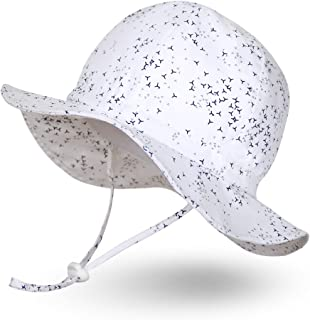 infant sun hat with chin strap