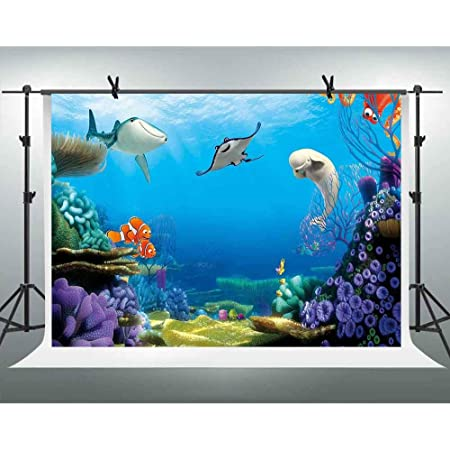 Photo of The Bottle Nosed Dolphins in Sunset Ocean Sea Animals Aquatic Print Background for Photography Kids Adult Photo Booth Video Shoot Vinyl Studio Props Animal 10x12 FT Photography Backdrop