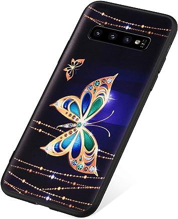 SainCat Coque Compatible avec Samsung Galaxy S10 360 Degres Transparent Ultra Slim Silicone Antichoc Ultra Resistante Bumper Coque-Transparent