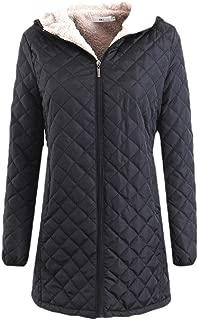 Women Lightweight Long Sleeve Packable Down Quilted Jacket Puffer Coat