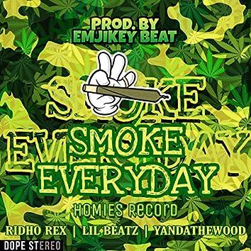 Smoke (feat. RIDHO REX, YANDATHEWOOD & Emjikey Beat)