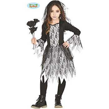 Bambino Pirata Zombie Ragazza Costume Halloween Età 5 6 7 8 9 10 11