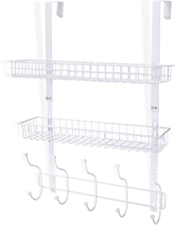 Best over the door basket with hooks Reviews