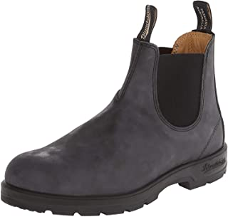 Blundstone Mens 587 Black Leather Boots 9.5 US