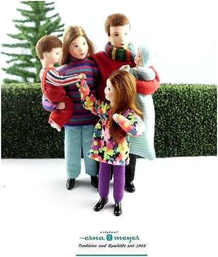 erna meyer Puppenmanufaktur - Familie 6 (Set)