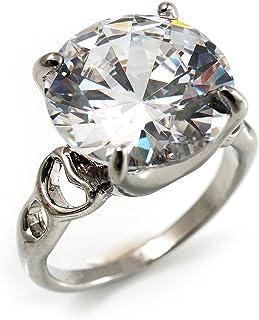 b1788aea53ff Amazon.es: Cristal De Roca - Anillos / Mujer: Joyería