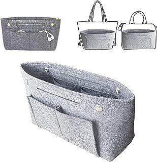 Felt Organizer Insert Divider Shaper Bag in Bag Purse Pocketbook Tote Handbag