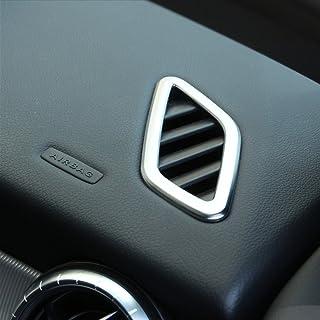 2PCS in fibra di carbonio cintura di sicurezza in ABS cromato cover Trim for B CLA gLa classe W117/C117/W246