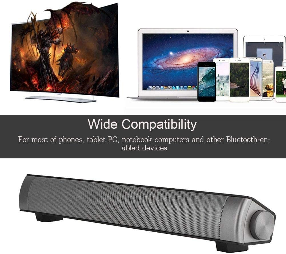 Indianapolis Mall Max 65% OFF Noise Cancelling Hi-Fi Soundbar Heavy for Bass Lossless Wireless