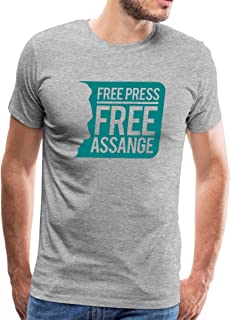 WikiLeaks Free Press Free Assange Men's Premium T-Shirt