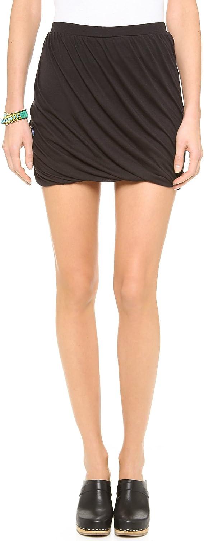 Free People Women's Twisted Bubble Skirt Black Combo XS (Women's 0-2)