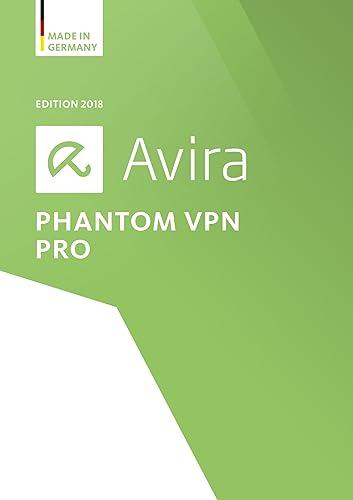 Avira Phantom VPN Pro 2018 | 1 User | 1 Year Unlimited [Online Code]