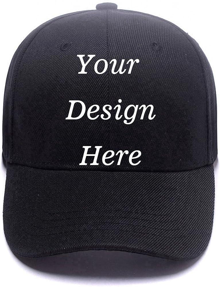 Custom Baseball Cap Vintage Printed Sun Protection Hat Classic Hip-hop Sport Cap Adjustable Snapback Hat
