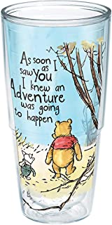 Tervis 1269251 Disney-Winnie the Pooh Adventure Insulated Tumbler with Wrap, 24oz, Clear