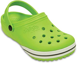 crocs Children Clogs Kilby Beach Shoes in Green