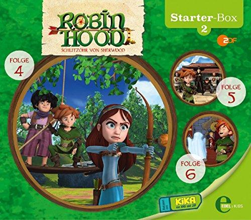 Robin Hood - Schlitzohr von Sherwood - Starter-Box 2 - Das Original-Hörspiel zur TV-Serie