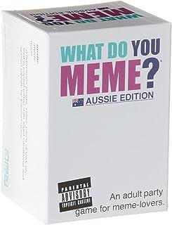 What Do You Meme? WDYM105 Aussie Edition Card Game
