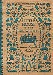 Little House in the Big Woods book cover with link to Amazon page