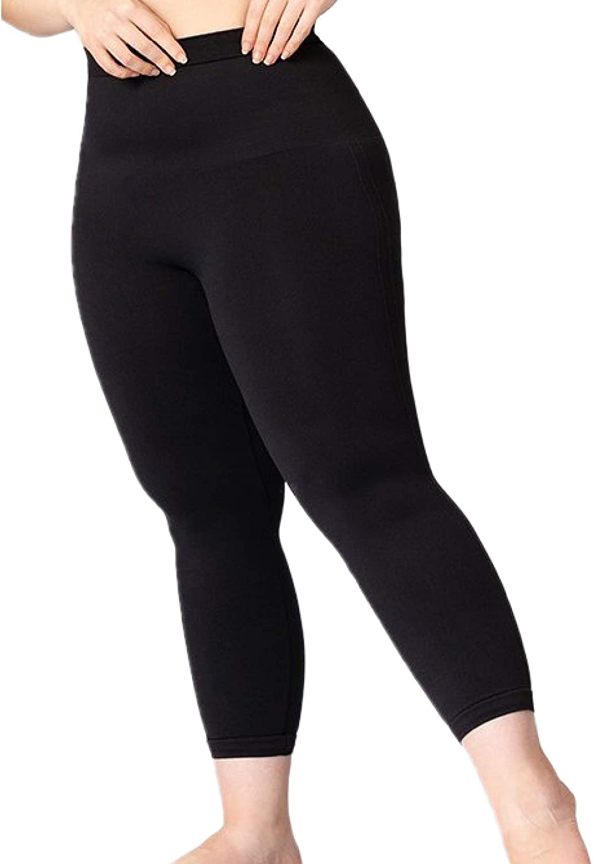 Shapermint MidWaist Shaping Ankle Length Capri Cropped Leggings Medium Compression Shapewear