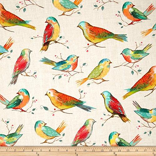 Hoffman Fabrics Hoffman Digital All A Twitter Birds Spring Fabric By The Yard