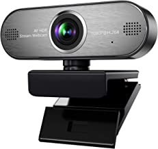 Pro Stream Webcam 1080P HD Video Auto Focus Camera for Streaming, Game Recording, Conferencing, USB Web Camera with Mic Skype, Xsplit, OBS for Mac, PC, Laptop, Desktop, Xbox ONE