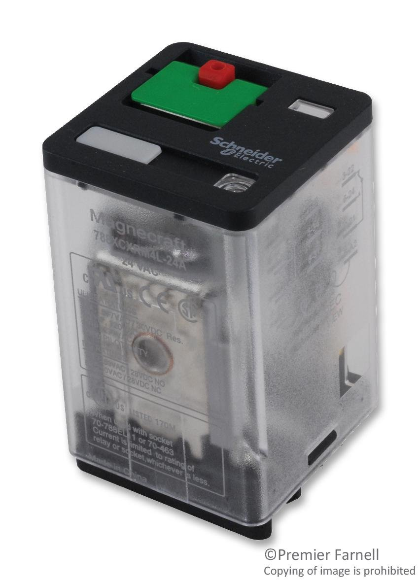 Power Relay online shop 3PDT Selling and selling 24 VAC Socket 788 A Series 10