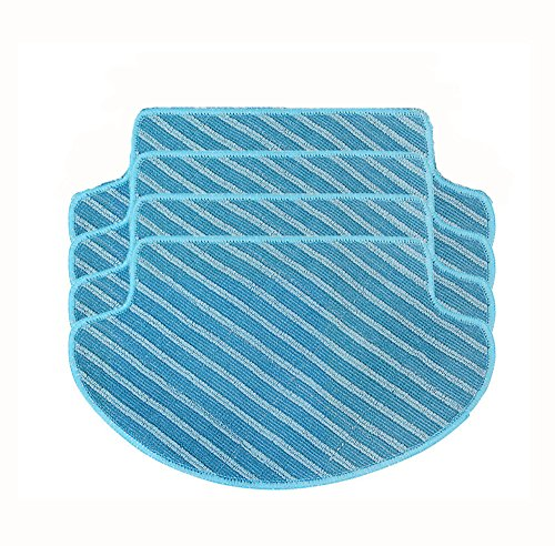 Buy Discount GIBTOOL 4-Pack Washable Wet & Dry Replacemnet Microfiber Mop Pad for DEEBOT DN78(Water ...