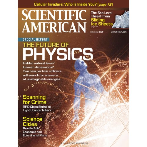 Scientific American, February 2008 cover art