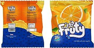 مسحوق مشروب صناعي بنكهة البرتقال فروتي من دريم، 750 جم