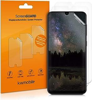 kwmobile 3x pellicola salvaschermo compatibile con Samsung Galaxy A30s - Film protettivo proteggi telefono - protezione an...