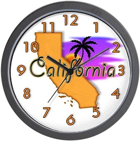 CafePress California Unique Decorative 10 Wall Clock