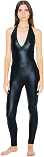 American Apparel Women's Metallic Halter Catsuit
