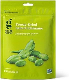 Good & Gather- Freeze Dried Salted Edamame - 3.25oz