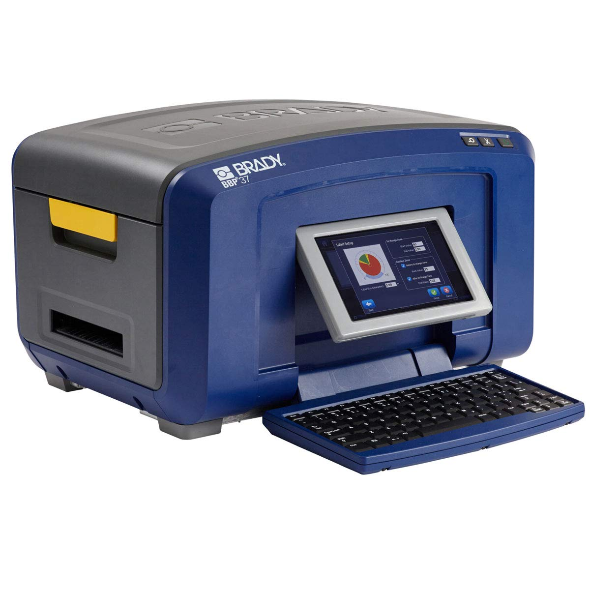 Max Ranking TOP15 42% OFF Brady BBP37 Sign and Color Printer Label -