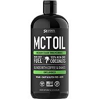 SportsResearch 100% Pure & Premium MCT Oil 32oz