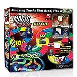 ONTEL Magic Tracks Rescue Race Car Set, Multicolor, 10