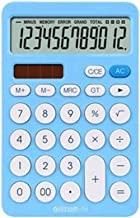 $34 » Samantha Office Supplies Calculator 12 Digit Desk Calculator Large Buttons Financial Business Accounting Tool White Blue O...