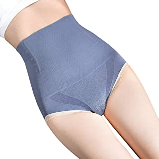 Sentao Women's Seamless High-Waist Belly Pants, Hip-Lifting Panties, Large Size Plus Fat Shaping Panties